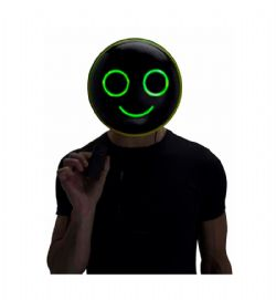MASK -  ILLUMO HAPPY MASK - GREEN