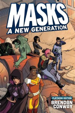 MASKS: A NEW GENERATION -  PLAYBOOK - HARDCOVER (ENGLISH)