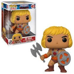 MASTERS OF THE UNIVERSE -  POP! VINYL FIGURE OF HE-MAN (10 INCH) -  RETRO TOYS 43