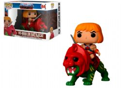 MASTERS OF THE UNIVERSE -  POP! VINYL FIGURE OF HE-MAN ON BATTLE CAT (4 INCH) 84