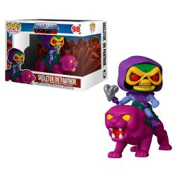MASTERS OF THE UNIVERSE -  POP! VINYL FIGURE OF SKELETOR ON PANTHOR (4 INCH) 98