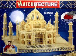 MATCHITECTURE -  TAJ MAHAL (7500 MICROBEAMS)