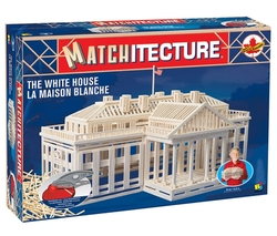 MATCHITECTURE -  THE WHITE HOUSE (1850 MICROBEAMS)