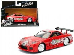 MAZDA -  DOM'S RX-7 1/32 - RED -  FAST AND FURIOUS