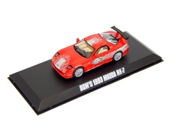 MAZDA -  RX-7 1993 1/43 - RED -  FAST AND FURIOUS