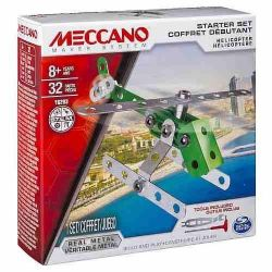 MECCANO -  HELICOPTER - STARTER SET (32 PIECES) 16203