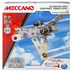 MECCANO -  JET - STARTER SET (55 PIECES) 16202