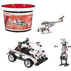 MECCANO JUNIOR -  BUCKET- MULTIPLE BUILDS (150 PIECES) 18000