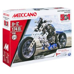 MECCANO -  MOTORCYCLES - 5 IN 1 17202