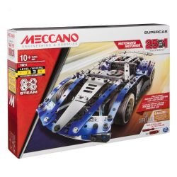 MECCANO -  MOTORIZED SUPERCAR - 25 EN 1 18211