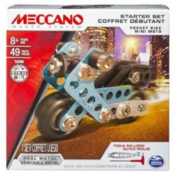 MECCANO -  POCKET BIKE - STARTER SET (49 PIECES) 16204