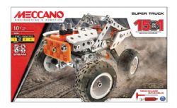 MECCANO -  SUPER TRUCK - 15 IN 1 -  STEAM 19204