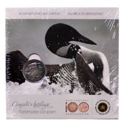 MEDALLIONS -  100TH ANNIVERSARY OF THE ROYAL CANADIAN MINT (1908-2008) -  2008 CANADIAN COINS