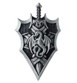 MEDIEVAL -  DRAGONLORD SHIELD AND SWORD