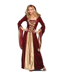MEDIEVAL -  LADY OF THRONES COSTUME (ADULT)