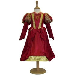 MEDIEVAL -  MEDIEVAL QUEEN COSTUME (CHILD)