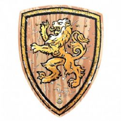 MEDIEVAL -  SHIELD - WOODY LION (14