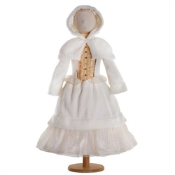 MEDIEVAL -  WINTER WONDERLAND PRINCESS COSTUME (CHILD)