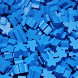 MEEPLE 25-PACK -  BLUE