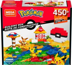 MEGA CONSTRUX -  BUILDING BOX (450 PIECES) -  POKEMON