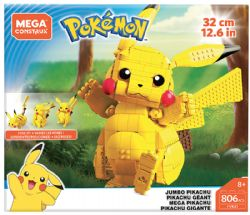 MEGA CONSTRUX -  JUMBO PIKACHU (806 PIECES) -  POKEMON