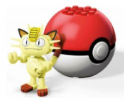 MEGA CONSTRUX -  MEOWTH -  POKEMON
