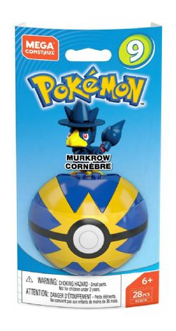 MEGA CONSTRUX -  MURKROW - SERIE 9 -  POKEMON
