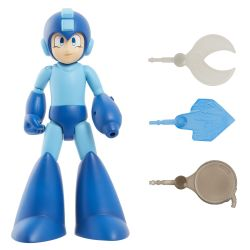 MEGA MAN -  MEGA MAN CLASSIC DELUXE ACTION FIGURE WITH SOUND (11INCHES)