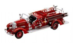 MERCEDES-BENZ -  1938 AHRENS FOX VC FIRE ENGINE RED 1/43