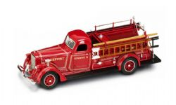 MERCEDES-BENZ -  1939 AMERICAN LAFRANCE B-550RC FIRE ENGINE RED 1/43