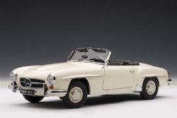 MERCEDES-BENZ -  1955 190 SL 1/18 - WHITE - USED