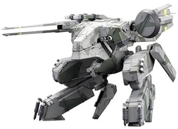 METAL GEAR -  METAL GEAR REX 1/100 SCALE FULL ACTION PLASTIC KIT (THIRD REPRODUCTION) -  METAL GEAR SOLID