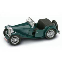 MG -  1947 TC MIDGET GREEN 1/18 - USED