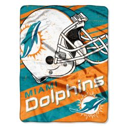 MIAMI DOLPHINS -  SUPER SOFT THROW (46
