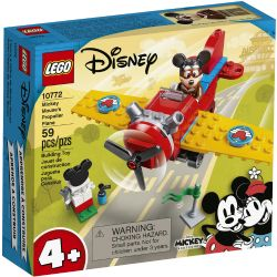 MICKEY AND FRIENDS -  MICKEY MOUSE'S PROPELLER PLANE (59 PIECES) 10772