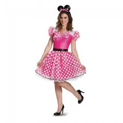MICKEY AND FRIENDS -  MINNIE MOUSE COSTUME (ADULT)
