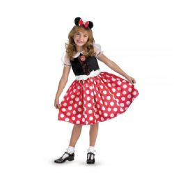 MICKEY AND FRIENDS -  MINNIE MOUSE COSTUME (CHILD) -  DISNEY JUNIOR