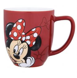 MICKEY AND FRIENDS -  RED MINNIE MUG