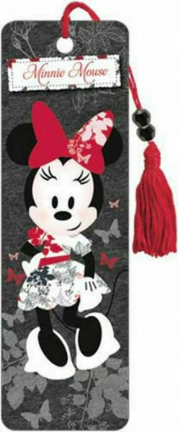 MICKEY MOUSE -  BEAUTY - BOOKMARK -  MINNIE MOUSE