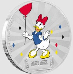 MICKEY MOUSE & FRIENDS CARNIVAL -  DAISY DUCK -  2019 NEW ZEALAND MINT COINS 04