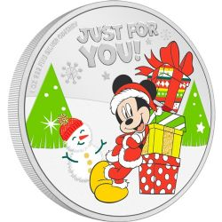 MICKEY MOUSE & FRIENDS -  DISNEY SEASON'S GREETINGS (2021) -  2021 NEW ZEALAND MINT COINS 08
