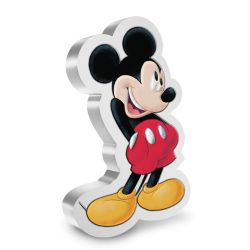 MICKEY MOUSE & FRIENDS -  MICKEY MOUSE & FRIENDS SHAPED COINS: MICKEY MOUSE -  2021 NEW ZEALAND MINT COINS 01