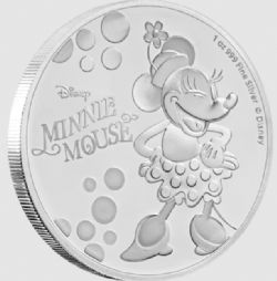 MICKEY MOUSE & FRIENDS -  MINNIE MOUSE -  2019 NEW ZEALAND MINT COINS