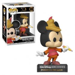 MICKEY MOUSE -  POP! VINYL FIGURE OF BEANSTALK MICKEY (4 INCH) -  WALT DISNEY ARCHIVES 800