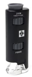 MICROSCOPES -  MICROSCOPE WITH LED (60X-100X)