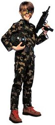 MILITARY -  G.I. SOLDIER COSTUME (CHILD)