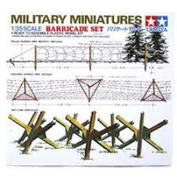 MILITARY MINIATURES -  BARRICADE SET 1/35 (EASY)