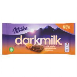 MILKA -  DARK SALTED CARAMEL CHOCOLATE