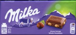MILKA -  WHOLE HAZELNUT