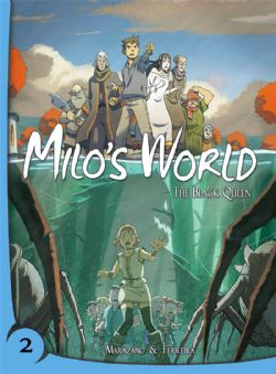MILOS WORLD -  BLACK QUEEN TP 02